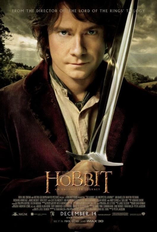 Bilbo-and-Sting-poster-for-The-Hobbit-An-Unexpected-Journey
