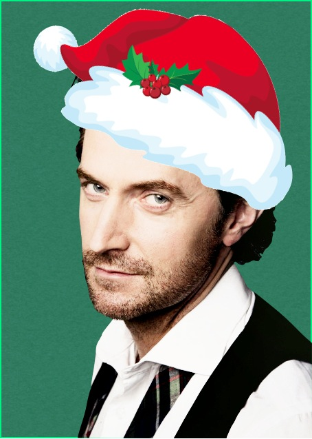 Richard Armitage Santa Hat