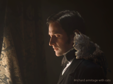 John Thornton with a Cat