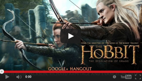 Hobbit Google Hangout