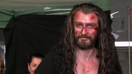 Richard Armitage Thorin bloody