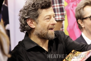 Andy Serkis at WonderCon 2014