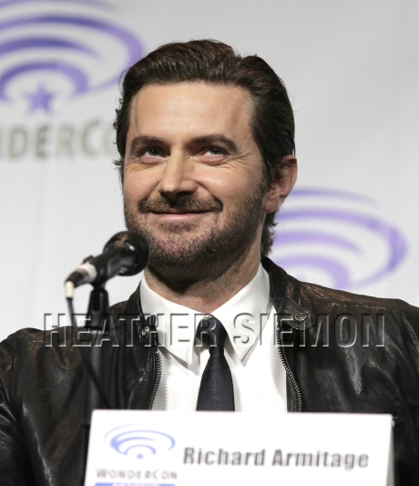 Richard Armitage at wondercon